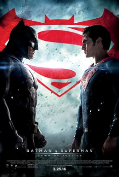 batman versus superman movie poster
